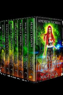 Magi Legend by Andrew Dobell