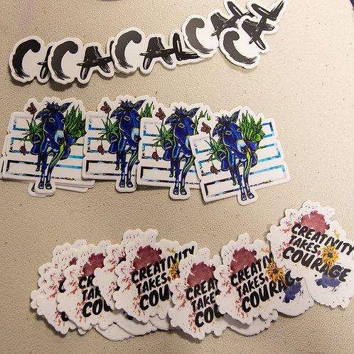 3 Sticker Bundle