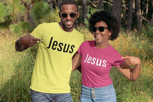 Jesus Short-Sleeve Unisex T-Shirt