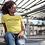 Thumbnail: Peace & Pizza Women's short sleeve t-shirt