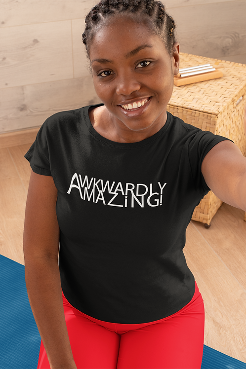 Awkwardly Amazing Women's short sleeve t-shirt