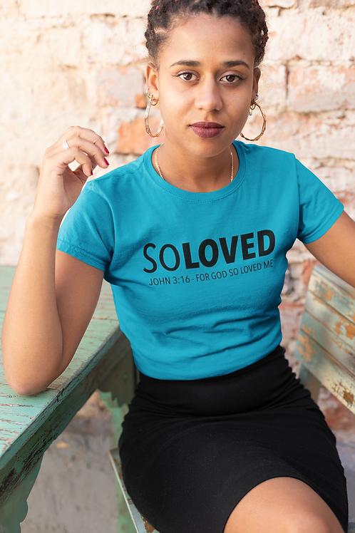 So Loved Women's short sleeve t-shirt