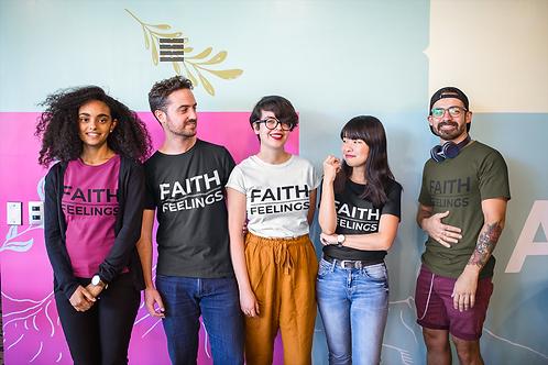 Faith Over Feelings Women's short sleeve t-shirt