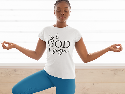God & Yoga Women's short sleeve t-shirt