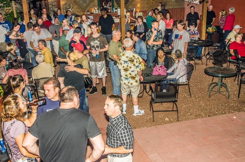 Beer Garden Crowds