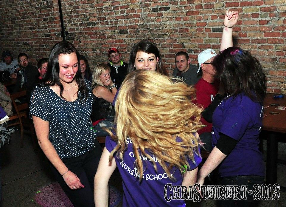 Dancin the night away in the Lyric R
