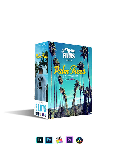 Palm Trees Lut 3 Pack Jet Phynx FIlms