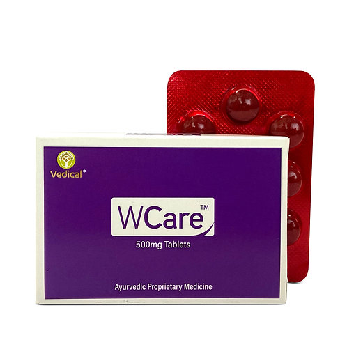 WCare Tablets – Female Uterine Care | Box of 30 Tablets