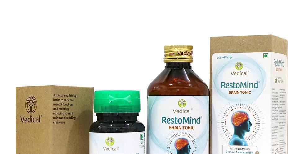 RestoMind – Stress Relief & Memory Enhancer