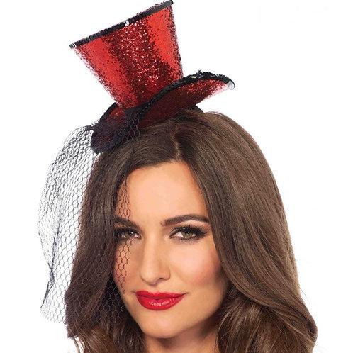 Leg Avenue Red Mini Top Hat