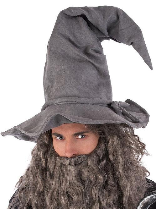 Grey Wizard Hat