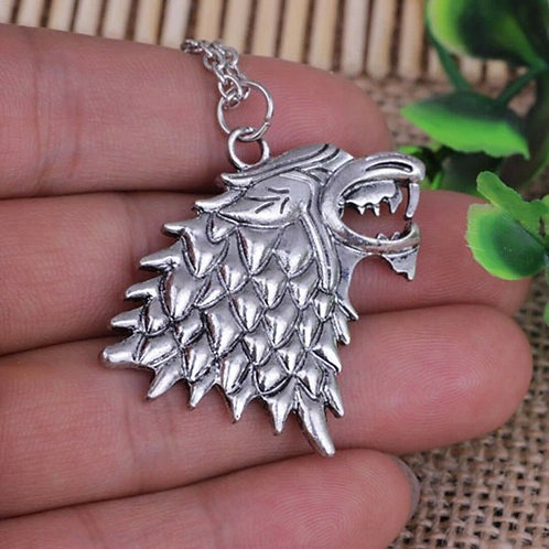 Direwolf Pendant Necklace