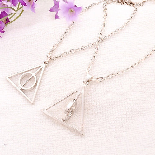 'Deathly Hallows' Pendant Necklace