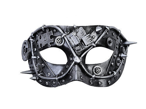 Silver Masquerade Mask
