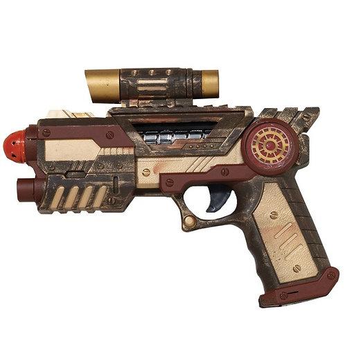 Steampunk Style Gun