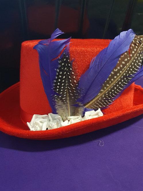 'Jessica Rabbit' Inspired Top Hat