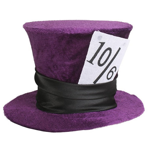 """Mini """"Mad Hatter"""" Style Top Hat"""