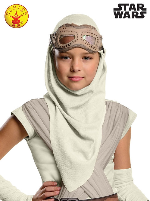 'Rey' Hood and Mask - Star Wars - Child