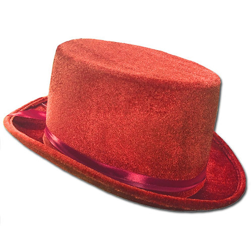 Top Hat - Red