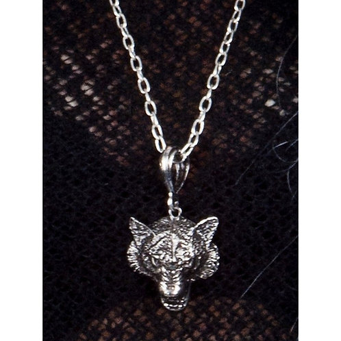 Wolf Pendant & Necklace