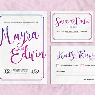 Wedding Stationary