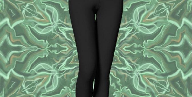 Malachite Mandala Reversible Legging