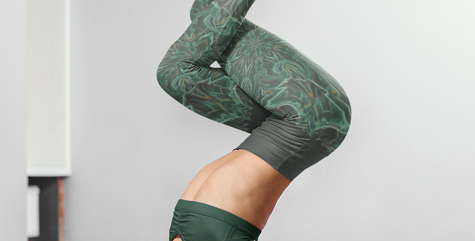 Malachite Mandala Eco-Legging
