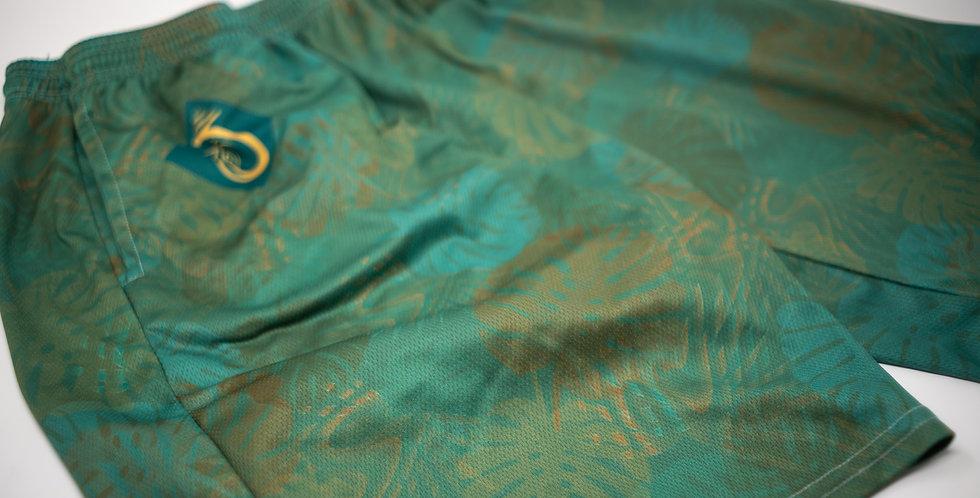 Tropical Daze Athletic Shorts