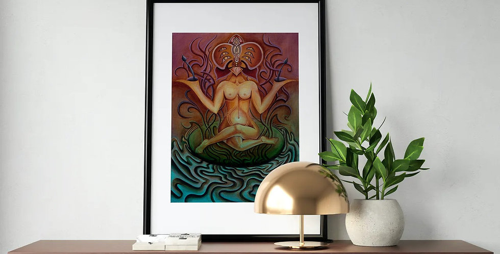 Orchid Queen Giclee Print