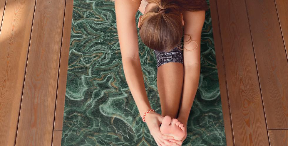 Malachite Mandala Yoga Mat