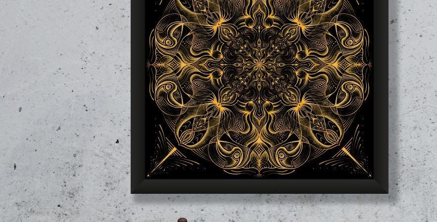 Midnight & Honey Limited Edition Giclee Print