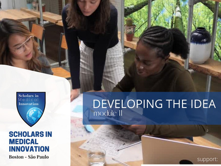 Developing the Idea - 2020 Scholars in Medical Innovation