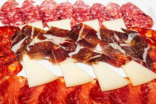 Surtido Ibérico (jamón, lomo, queso, salchichón)