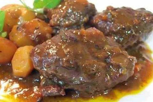 Carrilladas en salsa de Oporto