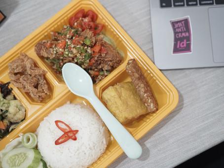Praktis, Meal Box Home Made Sehat dan Mudah Dibuat