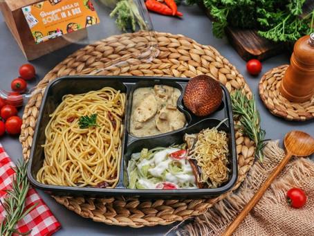 Menu Nasi Kotak Terlengkap Hanya di Soul in a Box