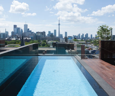 One Bedford | Toronto | Rooftop Pool