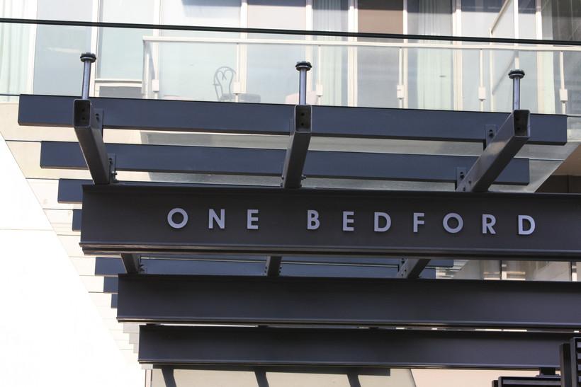One Bedford | Toronto | Street Sign