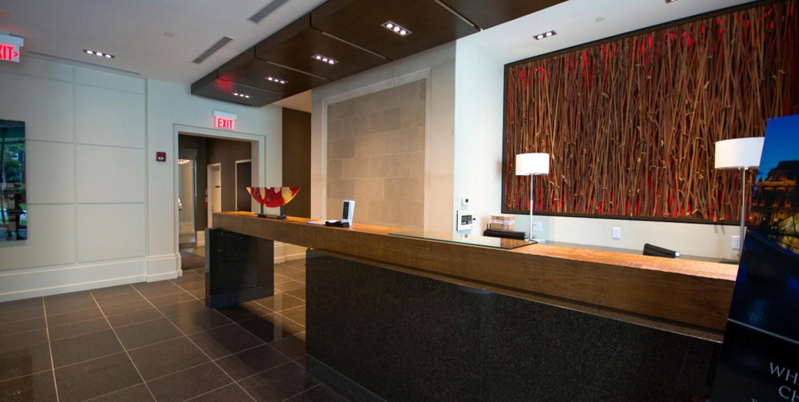 77 Charles   Toronto   Front Desk