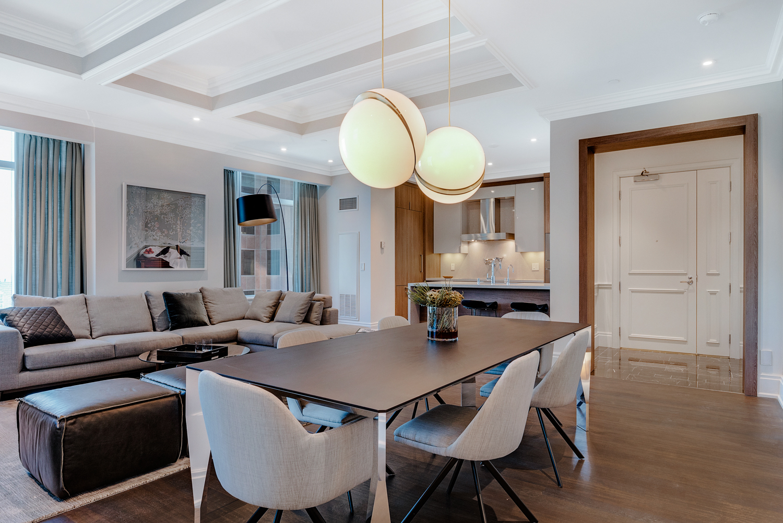 Living Room - Suite 3901 - St. Regis