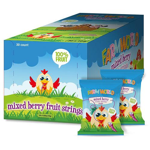Farmworld Blackcurrant (Mixed Berry) Fruit Strings 30 x 0.35oz