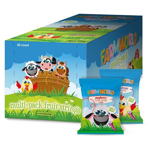 Farmworld Multi-Pack Fruit Strings 30 x 0.35oz (10g)