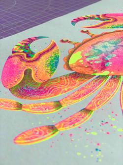 risograph print - Jasmine Floyd