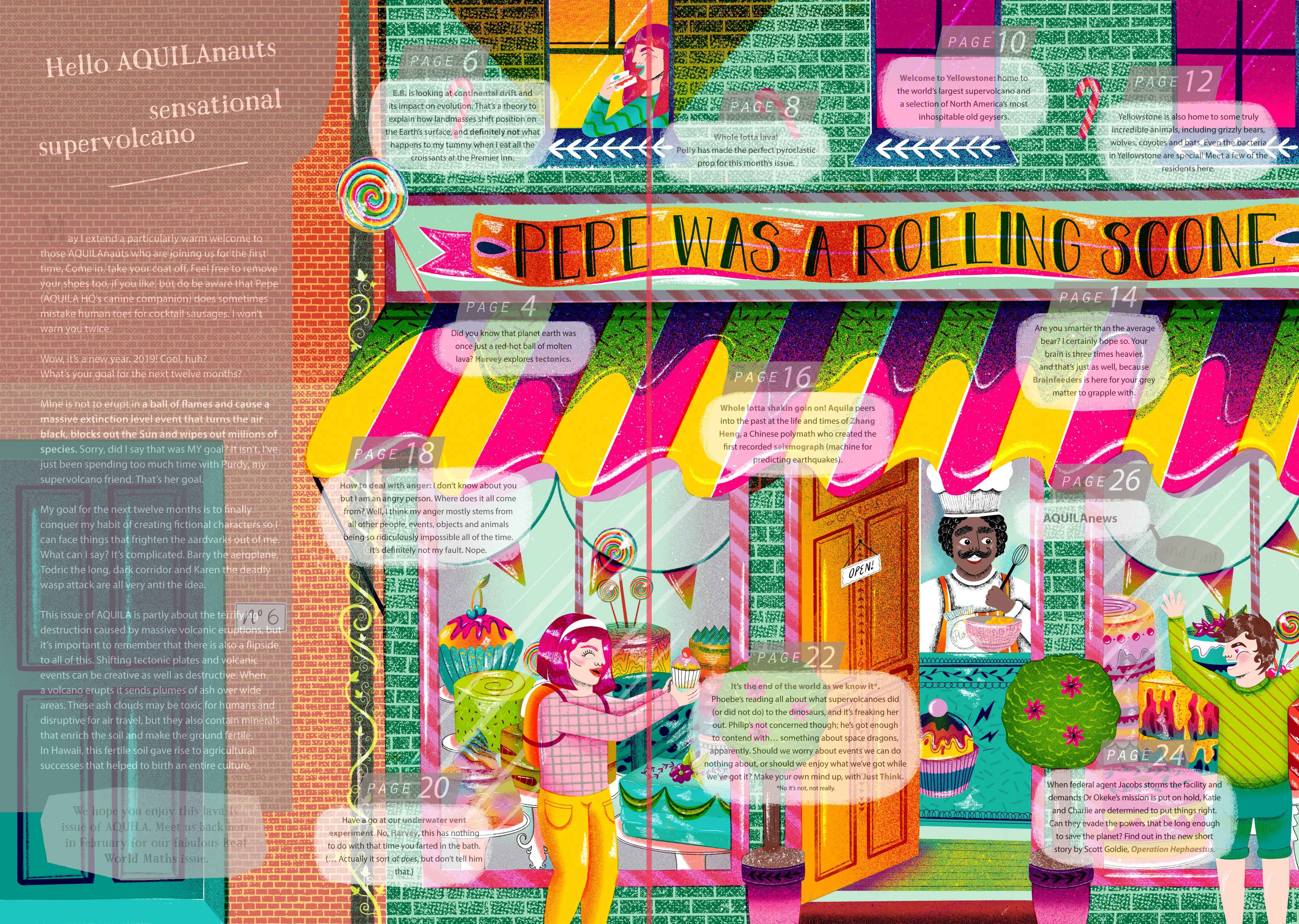 Jasmine Floyd - illustrator