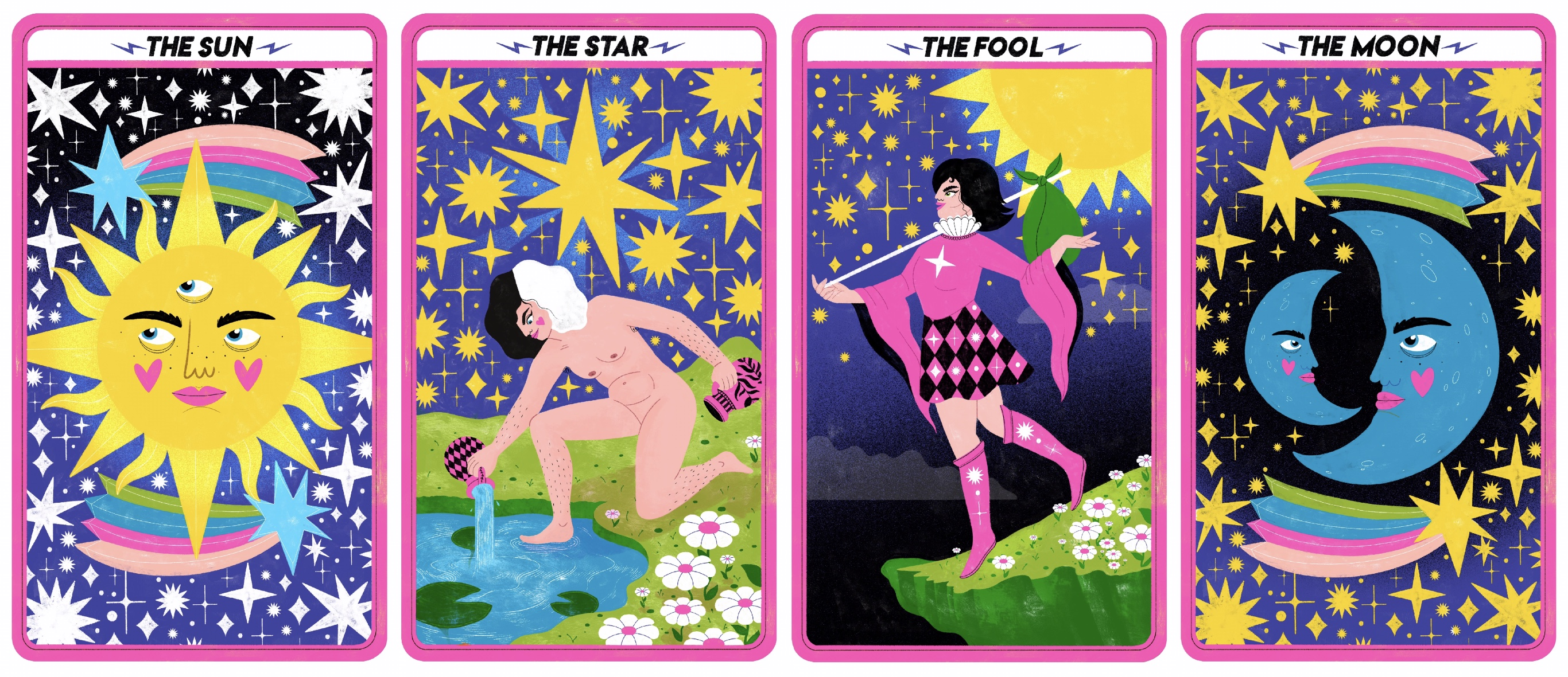 Tarot card editorial piece_