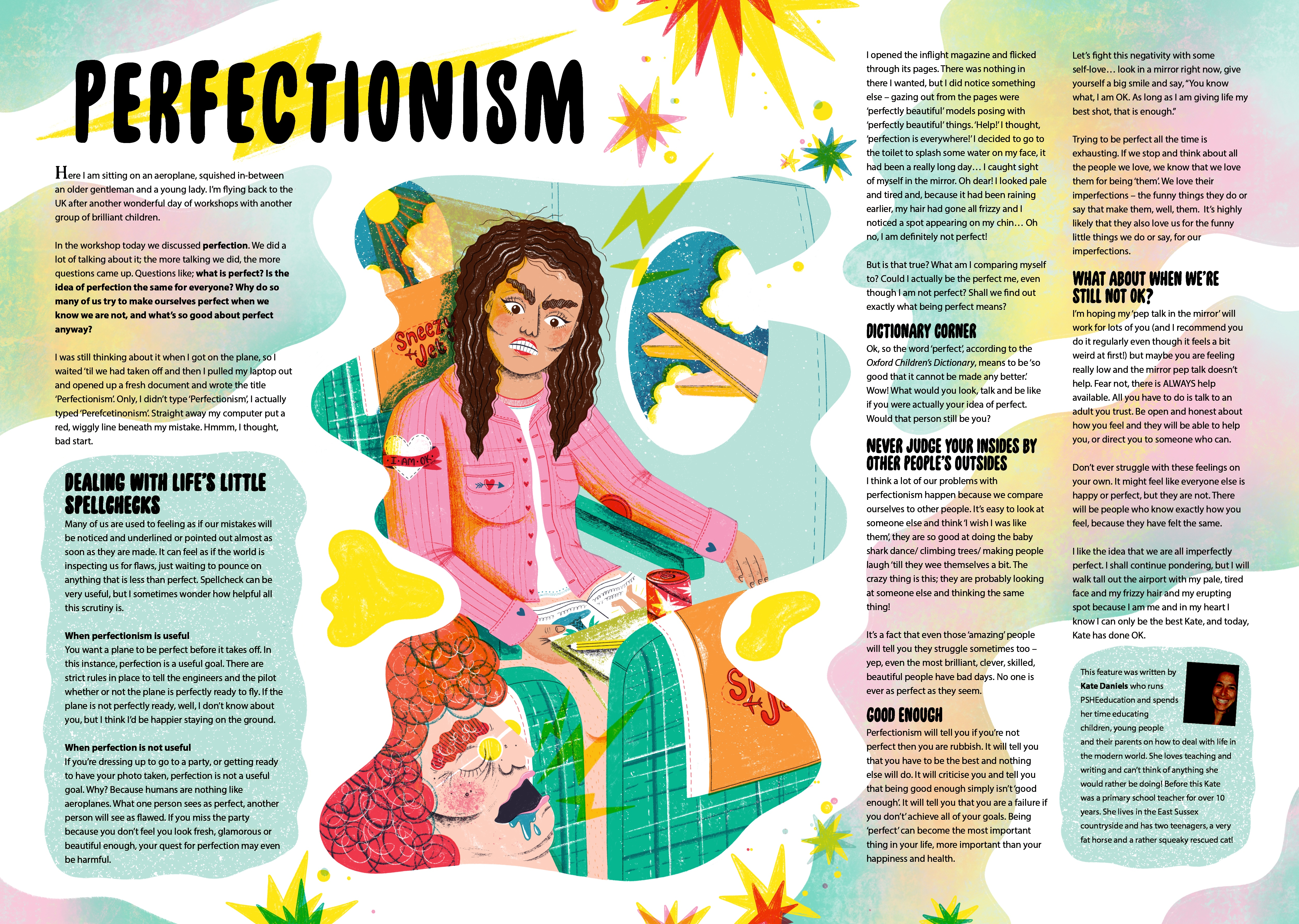 Perfectionism spread.