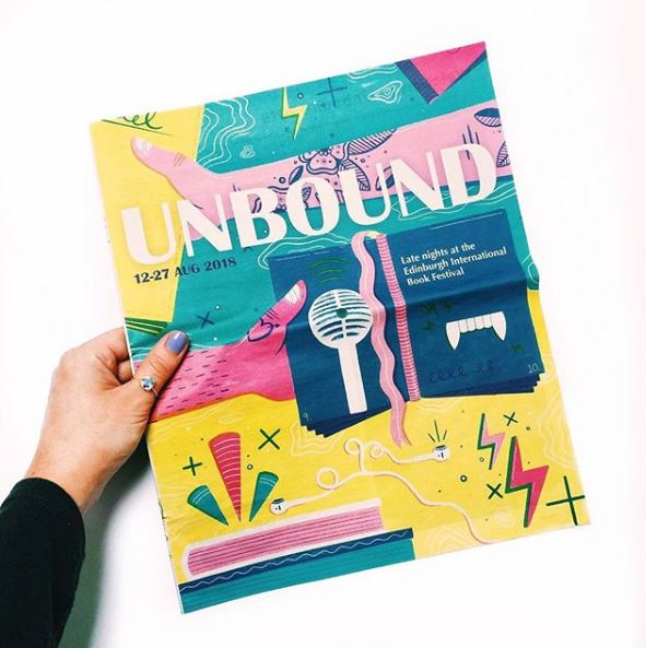 Unbound festival 2018 cover