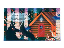 Little Red Riding Hood - Mock-up Spread - Jasmine Floyd