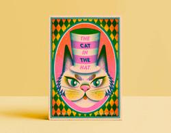 Cat in the hat Mock cover illustration - Jasmine Floyd