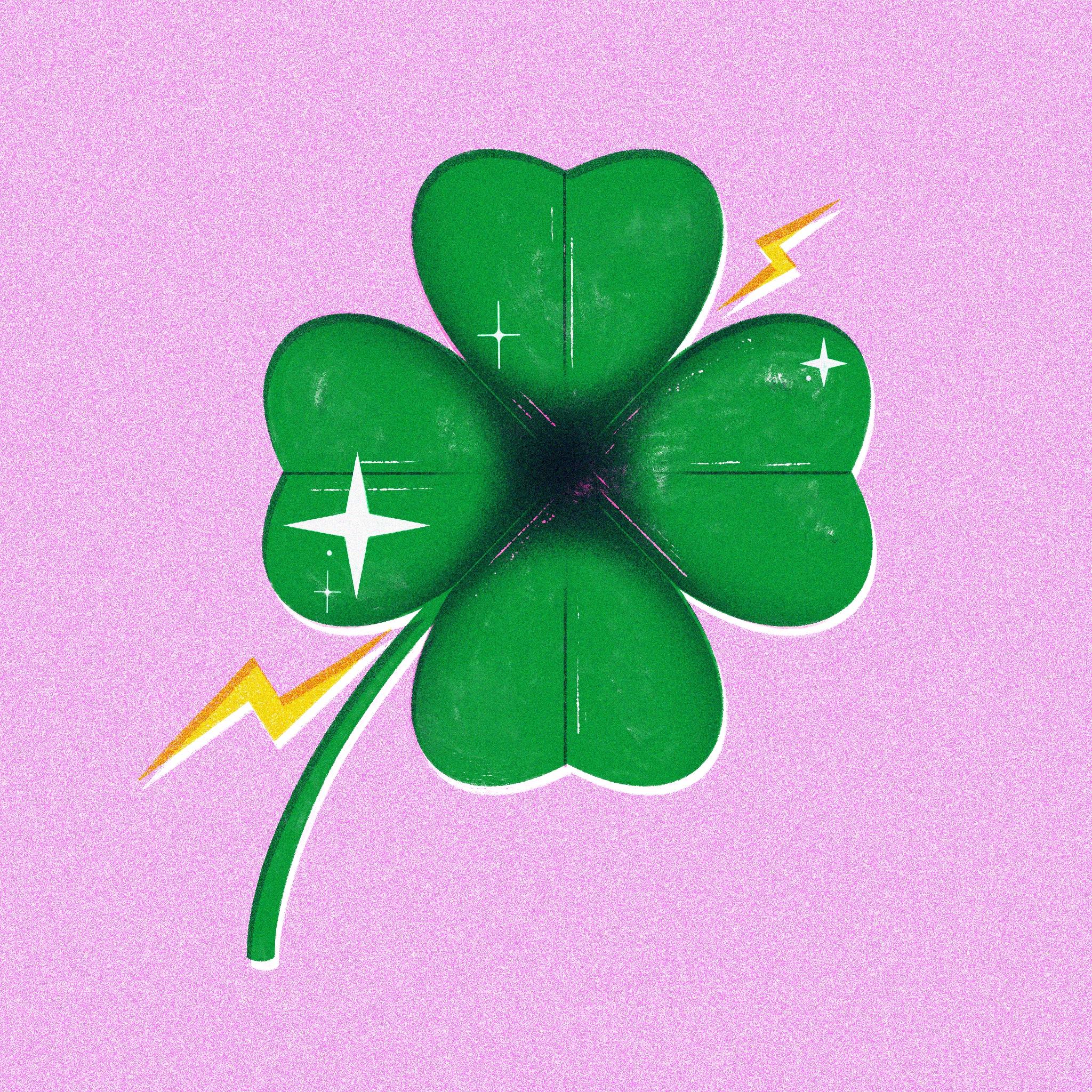 lucky clover - jasmine Floyd